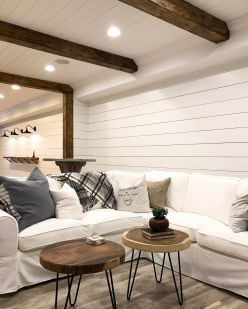 Easy rustic living room design ideas 20