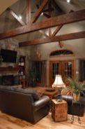 Easy rustic living room design ideas 26