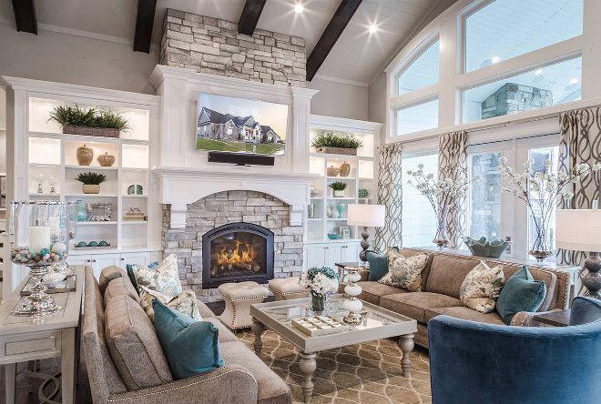 Easy rustic living room design ideas 40