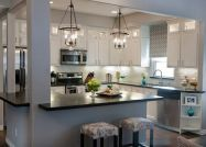 Elegant kitchen ideas with white cabinets 24