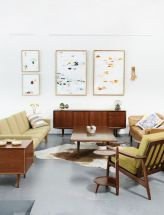Elegant mid century living room furniture ideas 03