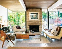 Elegant mid century living room furniture ideas 07