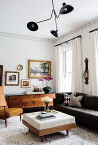 Elegant mid century living room furniture ideas 35