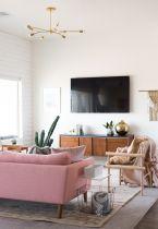 Elegant mid century living room furniture ideas 38