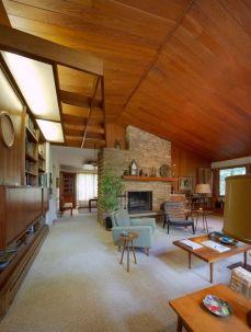 Elegant mid century living room furniture ideas 41