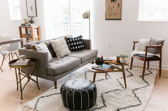 Elegant mid century living room furniture ideas 42