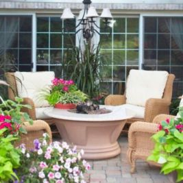 Fancy fire pit design ideas for your backyard home 06