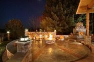 Fancy fire pit design ideas for your backyard home 07