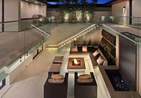 Fancy fire pit design ideas for your backyard home 12