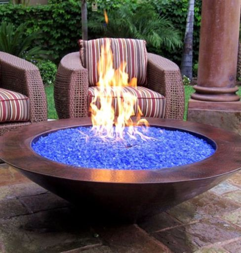 Fancy fire pit design ideas for your backyard home 19
