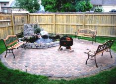 Fancy fire pit design ideas for your backyard home 20