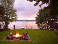 Fancy fire pit design ideas for your backyard home 26