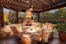 Fancy fire pit design ideas for your backyard home 37