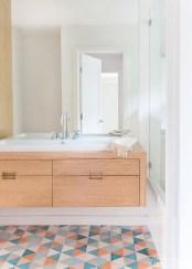 Fantastic mid century modern bathroom vanity ideas 22