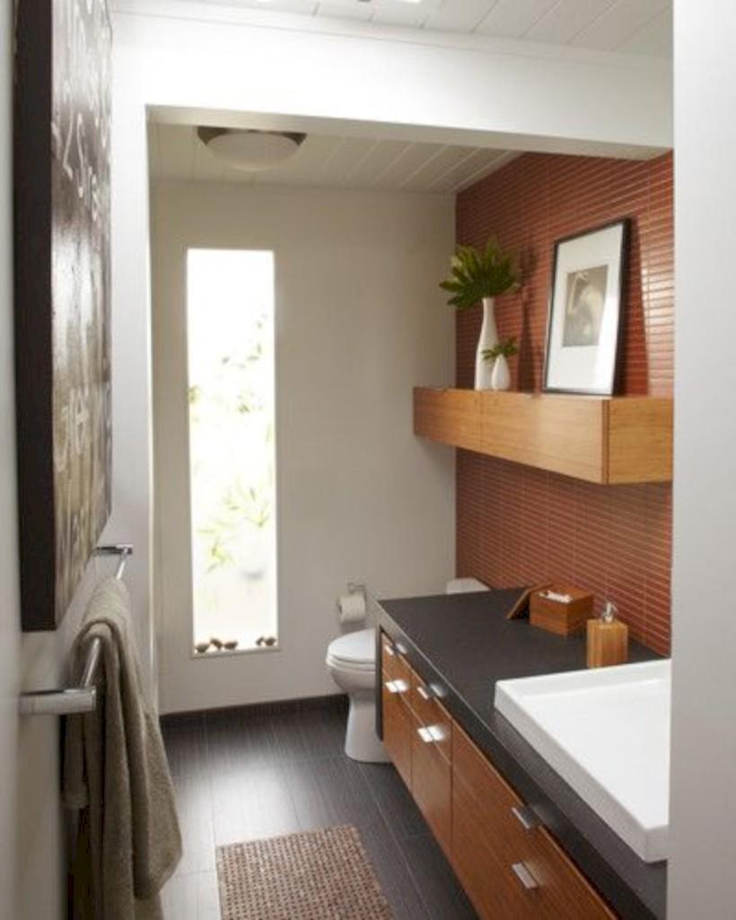 Fantastic mid century modern bathroom vanity ideas 28