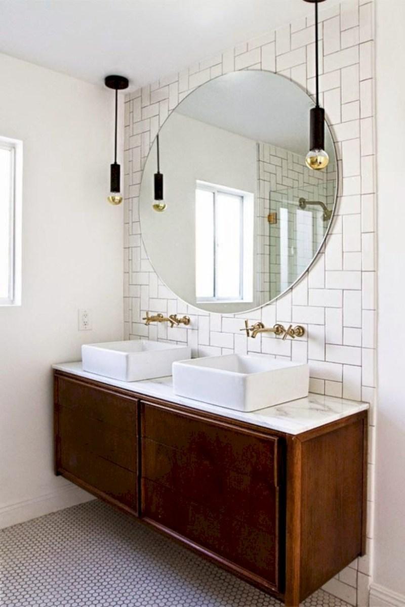 Fantastic mid century modern bathroom vanity ideas 34