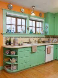 Impressive kitchen retro design ideas for best kitchen inspiration 37
