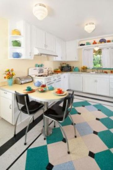 Impressive kitchen retro design ideas for best kitchen inspiration 40