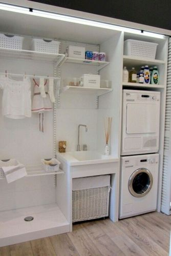 Inspiring small laundry room ideas 19
