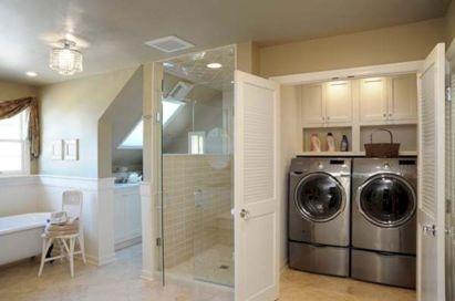 Inspiring small laundry room ideas 25