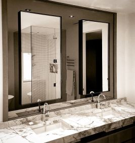 Lovely hotel bathroom design ideas that can be applied to your home 02