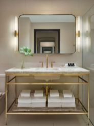 Lovely hotel bathroom design ideas that can be applied to your home 08