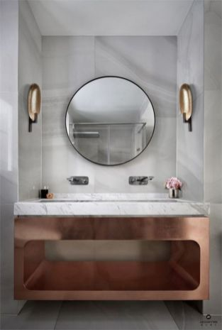 Lovely hotel bathroom design ideas that can be applied to your home 24