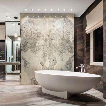 Lovely hotel bathroom design ideas that can be applied to your home 26