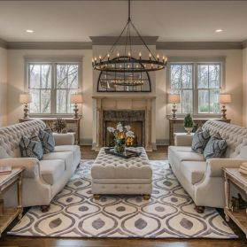47 Relaxing Formal Living Room Decor Ideas - ROUNDECOR
