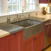 Relaxing undermount kitchen sink white ideas 02