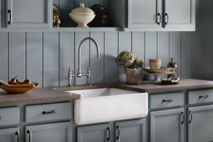 Relaxing undermount kitchen sink white ideas 11