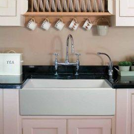 Relaxing undermount kitchen sink white ideas 12