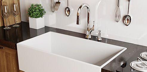 Relaxing undermount kitchen sink white ideas 43