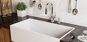 Relaxing undermount kitchen sink white ideas 43