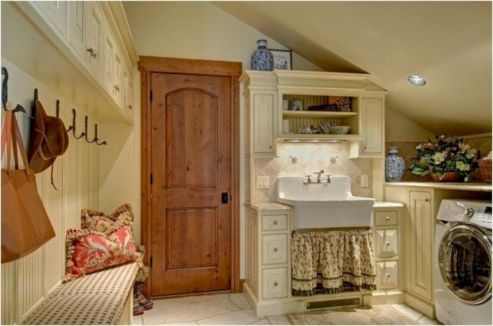 Stunning laundry room decor ideas 18