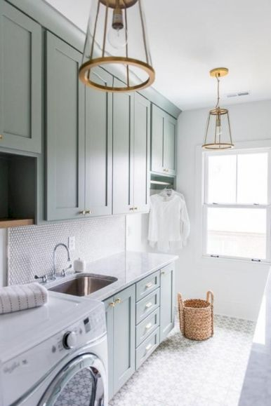 Stunning laundry room decor ideas 25