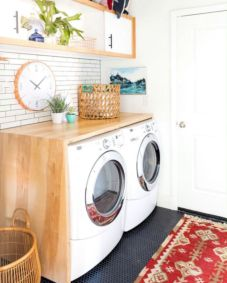 Stunning laundry room decor ideas 28