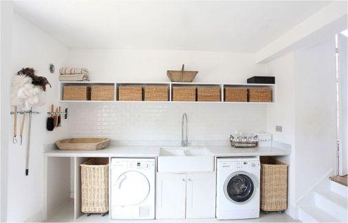 Stunning laundry room decor ideas 29
