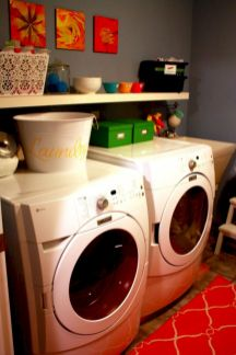 Stunning laundry room decor ideas 30