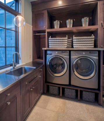 Stylish cabinets for laundry room 25