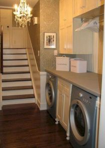 Stylish cabinets for laundry room 33