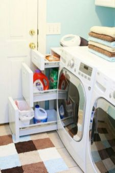 Stylish cabinets for laundry room 34