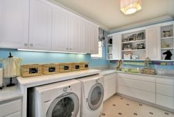 Totally inspiring laundry room wall cabinets ideas 07