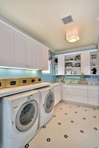 Totally inspiring laundry room wall cabinets ideas 14
