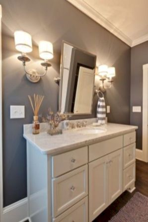 Totally inspiring laundry room wall cabinets ideas 16