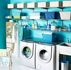 Totally inspiring laundry room wall cabinets ideas 31