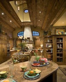Unordinary italian rustic kitchen decorating ideas to inspire your home 05
