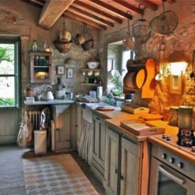 Unordinary italian rustic kitchen decorating ideas to inspire your home 17