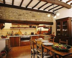 Unordinary italian rustic kitchen decorating ideas to inspire your home 24