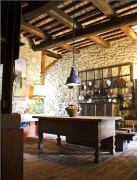 Unordinary italian rustic kitchen decorating ideas to inspire your home 31